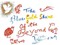 The blue gold-shore of the Beyond